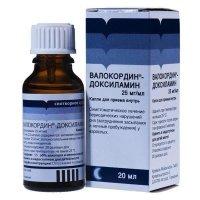 Валокордин-доксиламин (фл. 20мл)