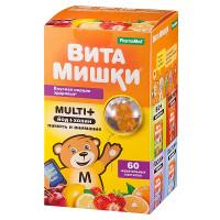ВитаМишки мульти+пастилки жевательные 2,4г №60