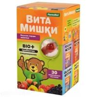 Витамишки BIO+пребиотик (пастилки жев. №30)