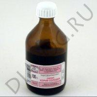 Солодки сироп (фл. 100г)