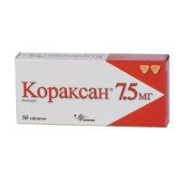 Кораксан таблетки 7,5мг №56