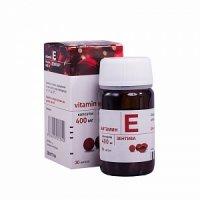 Витамин Е (токоферола ацетат) (капс. 400мг №30)
