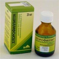 Купить Хлорофиллипт (фл. 2% 20мл в масле), РОССИЯ