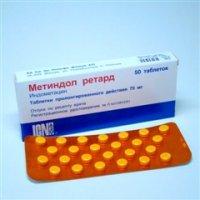 Метиндол-ретард таблетки 75мг №50