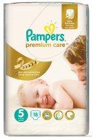 Подгузники Памперс premium care (юниор №18)