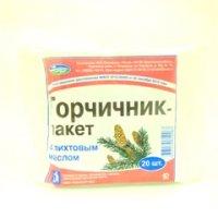 Купить Горчичник-пакет (№20 с пихтой), РОССИЯ