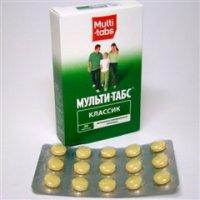 Мульти-табс Классик таблетки №30