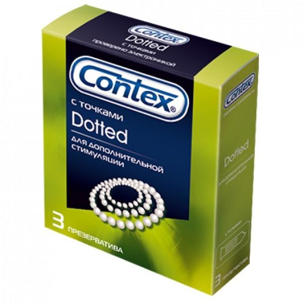 Купить Презервативы Contex №3 с точками, Великобритания