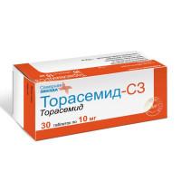Торасемид-СЗ (таб. 10мг №30)