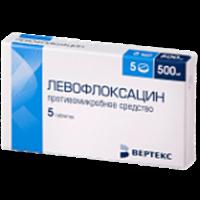 Левофлоксацин (таб.п.пл/об.500мг №5)