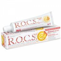 Рокс зубная паста для чувствительных зубов Манго,Банан 74г