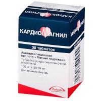 Кардиомагнил таблетки 150мг+30,39мг №30