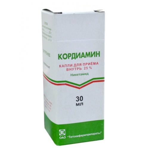 Кордиамин флакон 25% 25мл